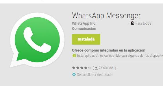 Whatsapp para Alcatel