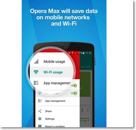 Ahorrar datos en Android