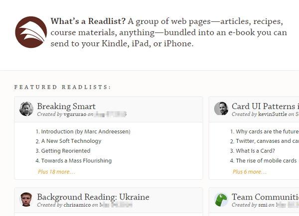 Readlist
