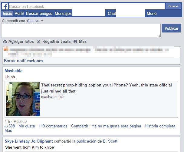 Facebook lite imagen