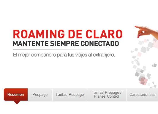 Roaming gratis en Centro America Claro Movistar