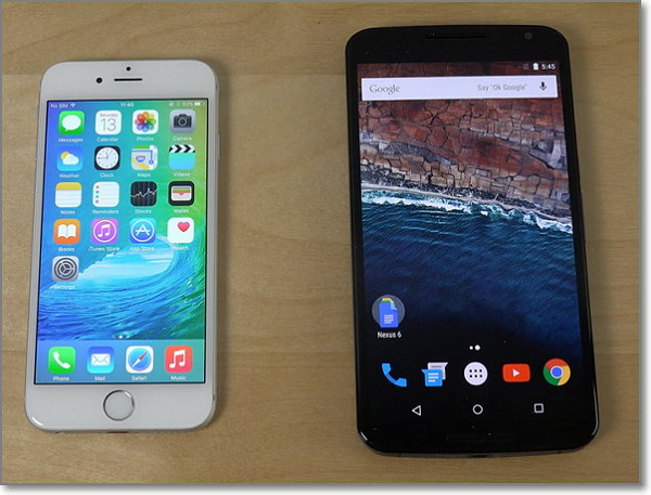 iOS 9 vs Android 6