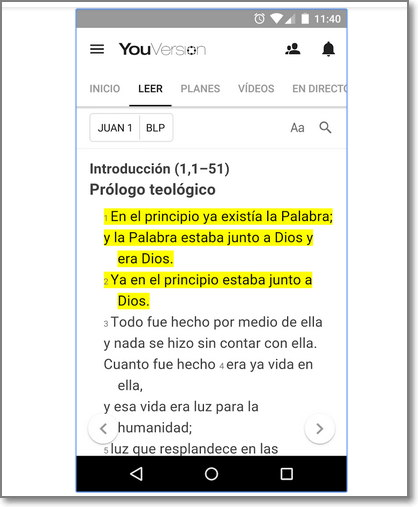 Descargar Youversion para Android