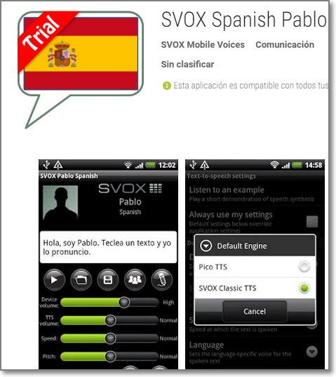 Voces tts android gratis