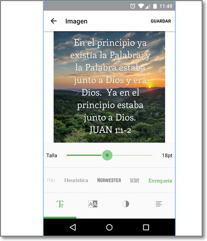 Youversion para Android