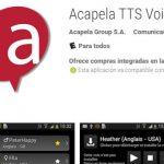 Mejores voces (TTS) para Android