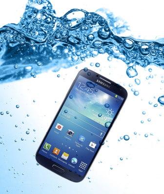 resistencia al agua smartphone