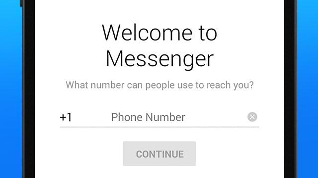 Entrar A Messenger Solo Con Tu Número De Teléfono