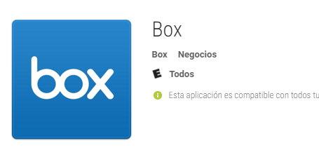 box net para Android