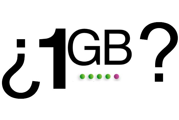 Diferencias de 1GB y 1MB