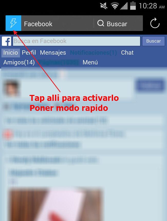 salir no activo en facebook truco