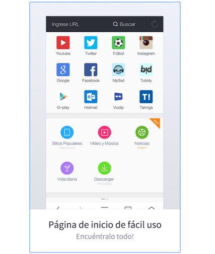 uc browser para Android APK