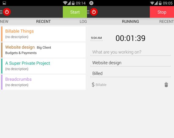 Descargar Toggl para Android
