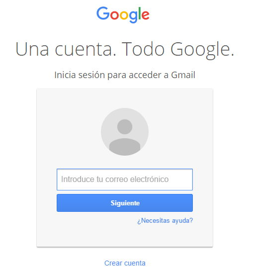 Entrar a Gmail
