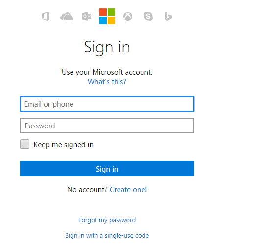 Hotmail correo entrar