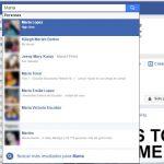 ¿Porque no encuentro el perfil de una persona en Facebook?