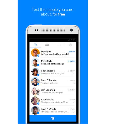 descargar messenger para Android