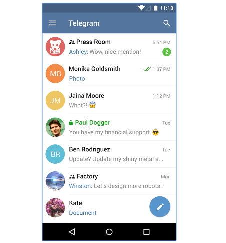 descargar telegram con bots