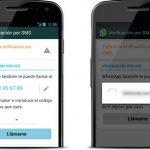 Whatsapp mensaje de verificación