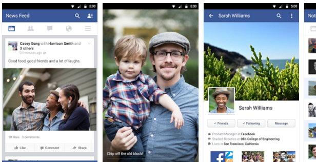 app de facebook descargar para android
