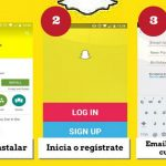 crear snapchat