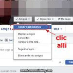 Tip: Recibir notificaciones en facebook de un amigo