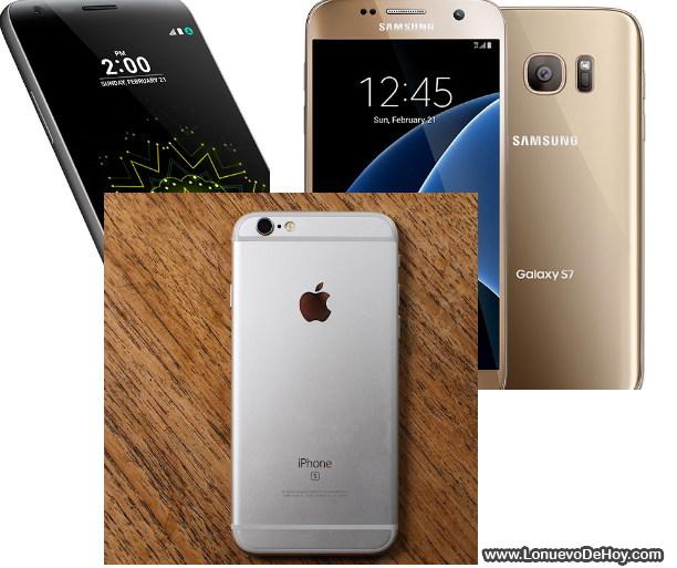 smartphones mas vendidos