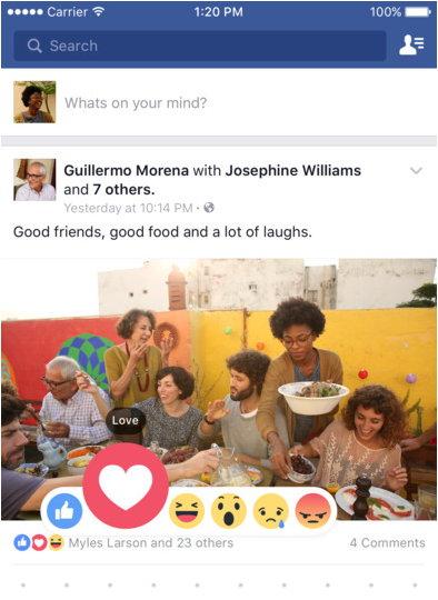 facebook para smartphone