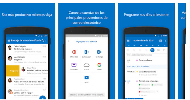 outlook para movil
