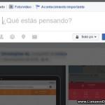 Cómo hacer una publicación solo para una persona en Facebook