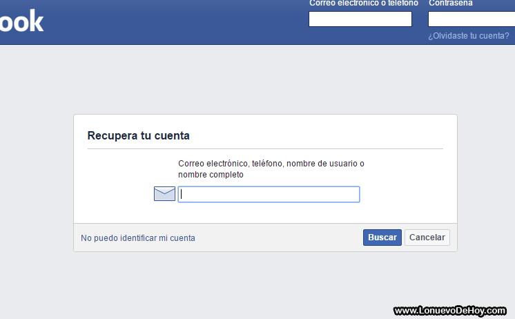 desbloquear facebook