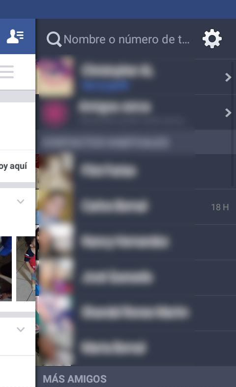 facebook para android imagen