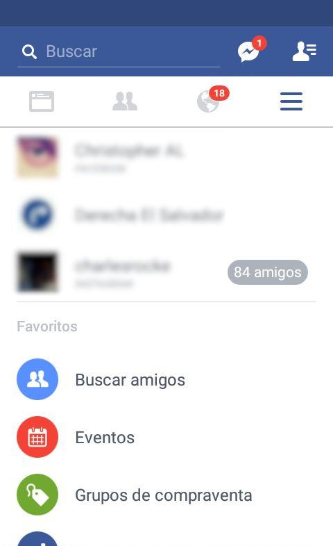 foto de facebook para android