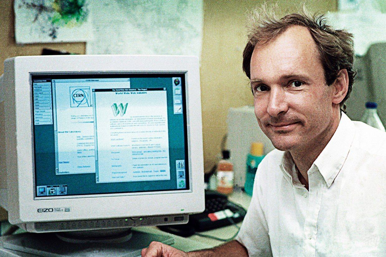 imagen del inventor de internet