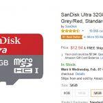 La microSD más vendida en amazon y barata