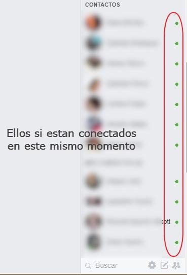 Ultimo paso para ver usuarios conectados en facebook