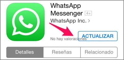 asi se actualiza whatsapp iphone
