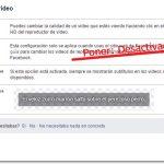 Quitar reproduccion automatica de videos en facebook