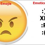 Emojis vs Emoticonos, estas son las diferencias
