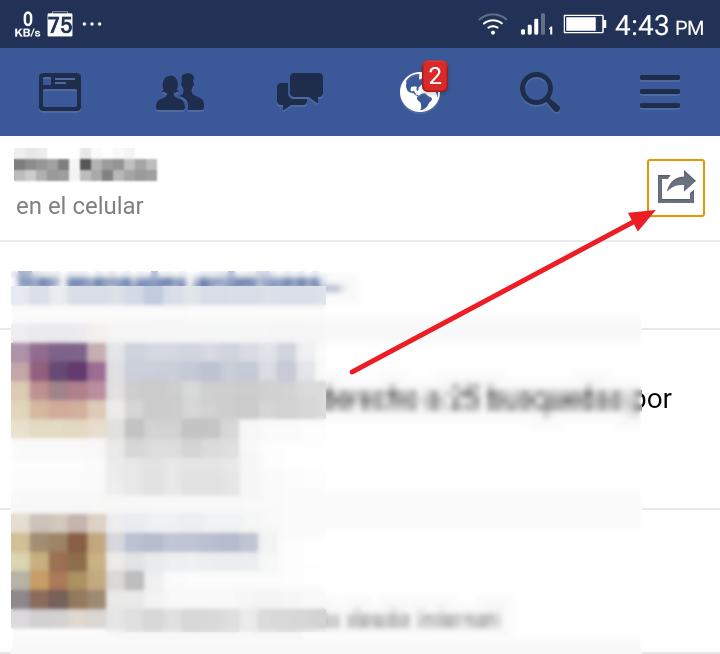 eliminar mensajes facebook
