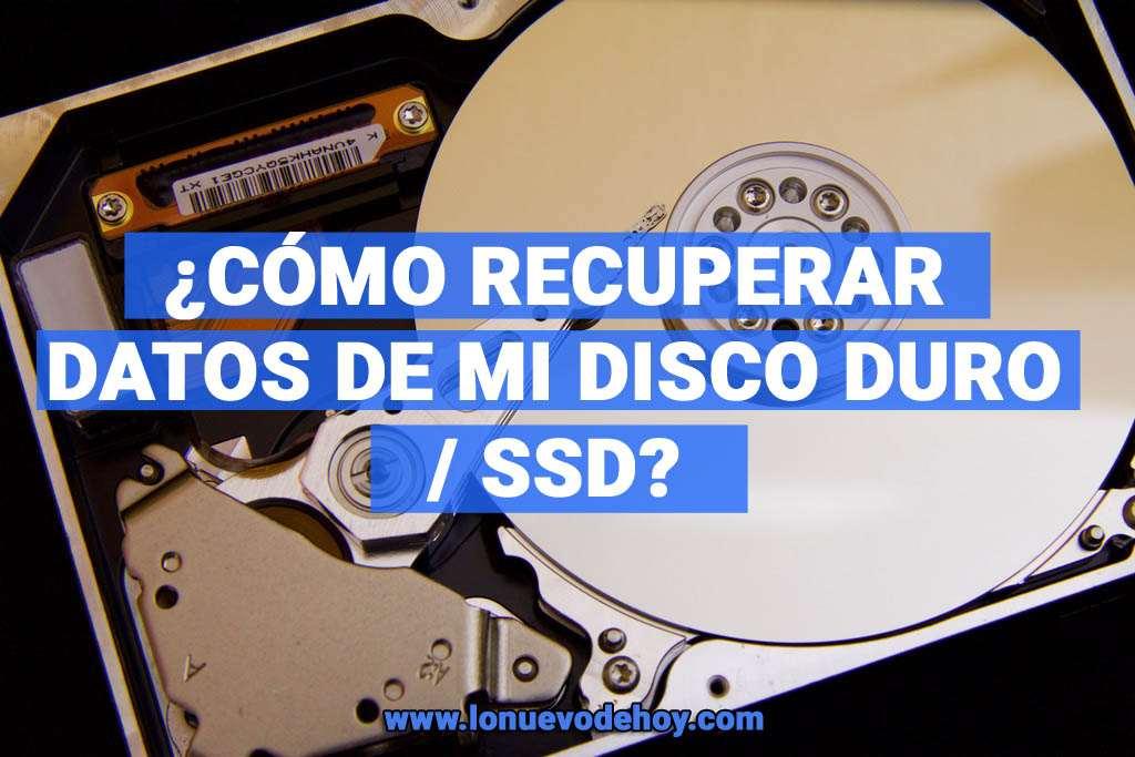 recuperar datos de mi disco duro