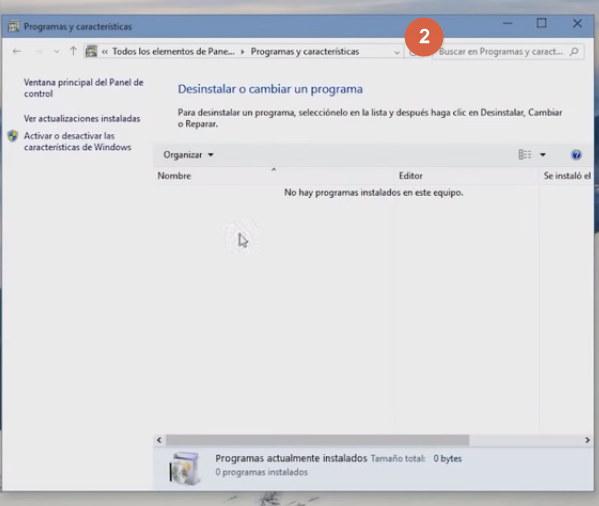 Desinstalar programas windows 10 imagen 2