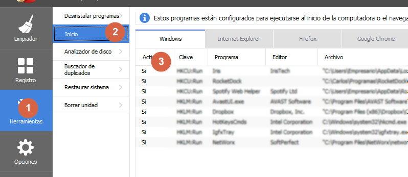 programas que inician con windows