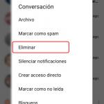 Cómo borrar los mensajes de Messenger