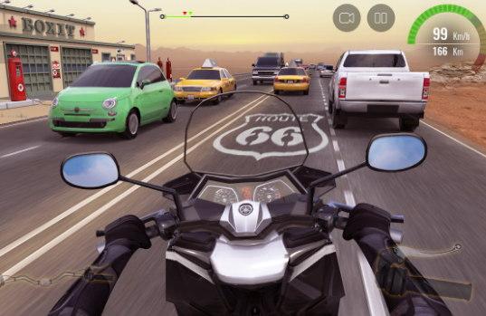 descargar Moto Traffic Race 2 android