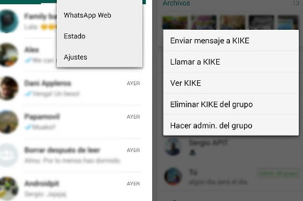 eliminar alguien de grupo de whatsapp