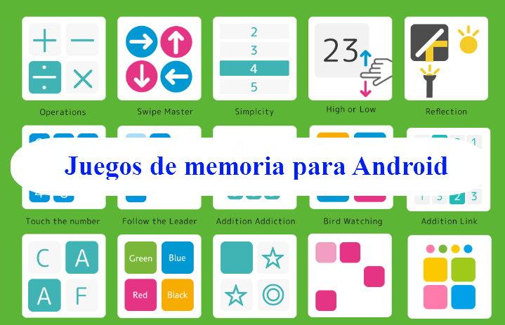 juegos de memoria para Android