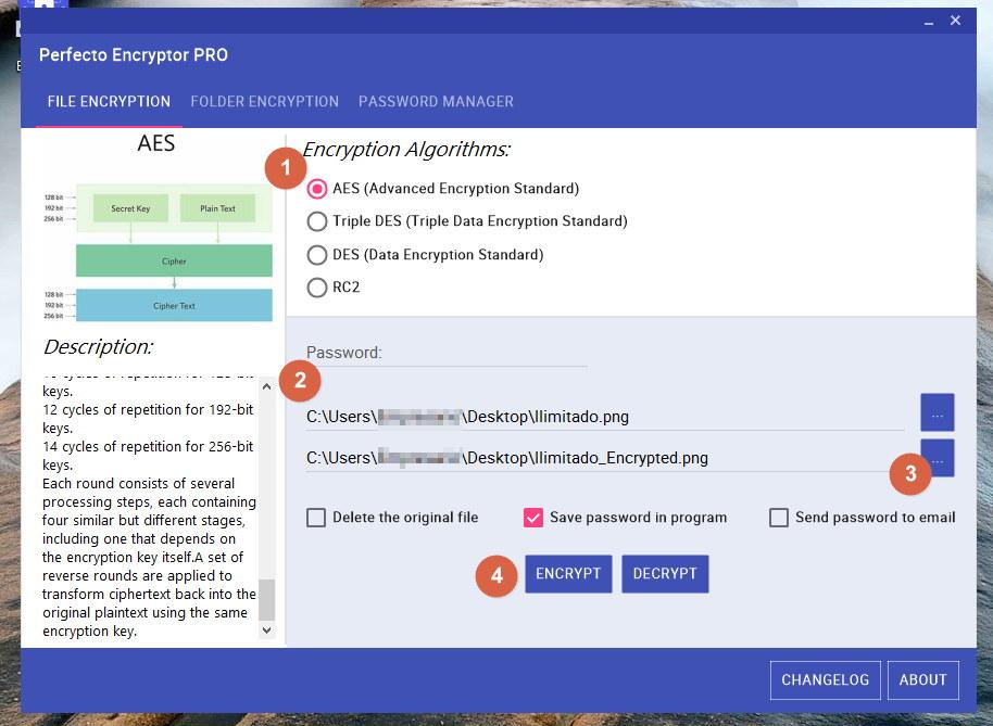 encriptar archivos en Windows