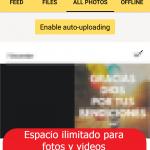 Yandex disk: carga de fotos y videos ILIMITADO