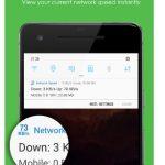 Network Speed – App para ver la velocidad de Internet en la barra de estado (Android)